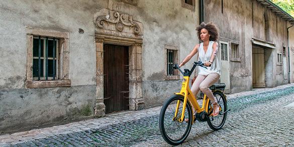 Alquiler bicicletas E-Bike Paseo